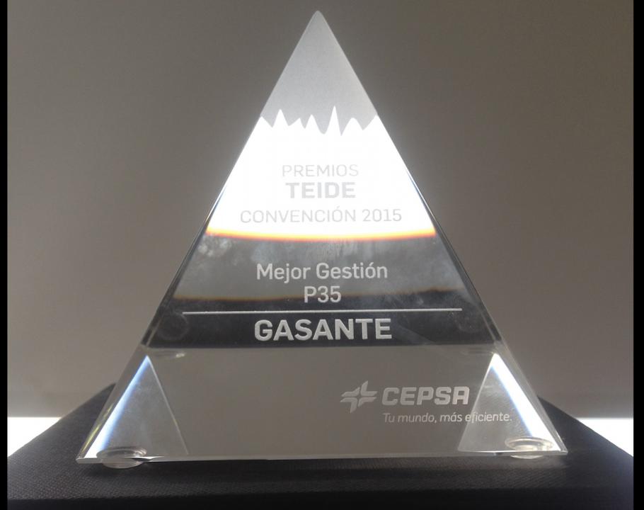 Foto de Premio Teide a la mejor gestión de P35