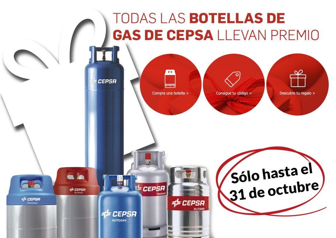 Foto de Regalo seguro con cada botella Cepsa Gas